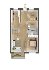 Small Homes Designs by 40 More 2 Bedroom Home Floor Plans