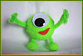 crafts for make your own mini mike wazowski