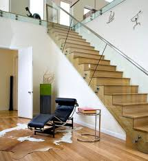 Hanging Stairs Design Modern Hanging Glass Staircase Designs With Nice Led Lighting