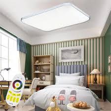 Wohnzimmerlampe Modern Sailun 48w Rgb Led Modern Deckenleuchte Deckenlampe Flur