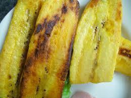 cuisiner banane plantain banane plantain grillée cuisine avec du chocolat ou thermomix