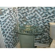 inch wall mounted single chrome metal bathroom vanity include