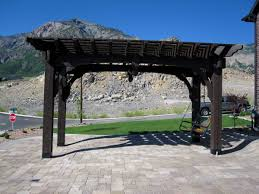 swing pergola 20 five star arbors pergolas gazebos full wrap roof western