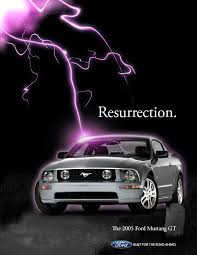ford mustang ad 2005 ford mustang mag ad by daveac1117 on deviantart