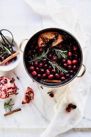 homemade stove top potpourri with pomegranates u0026 cranberries