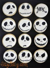 nightmare before christmas cupcake toppers 30 easy to decorate cookies