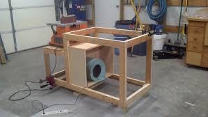 Homemade Downdraft Table - Downdraft table design