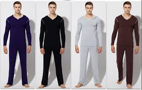 brand pajamas fashion robe sets clothing modal mens