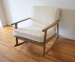Mid Century Modern Rocking Chair Modern Rocker Chair Simple Modern Rocking Chairs Gliders And