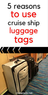 Delaware travel luggage images 5 reasons to use cruise ship luggage tags cruise radio jpg