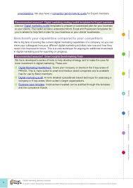 Strategic Planning Template Excel Digital Marketing Plan Template