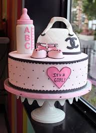 unique baby shower cakes baby shower cake for girl