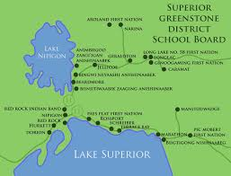 Map Of Lake Superior District 6b Superior North
