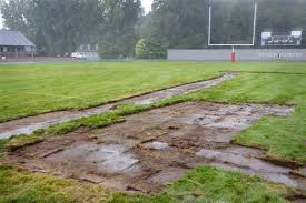 Football Field In Backyard Male Etched Into Bedford Football Field The Blade