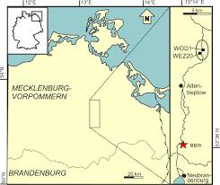 Southern Germany Map by Tollensetal Ne Germany