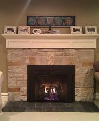 Fireplace Electric Insert Gas Insert For Existing Fireplace Electric Insert Before And After