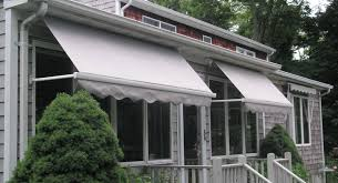 Drop Arm Awnings Eclipse Drop Arm Retractable Window And Porch Awnings Eclipse