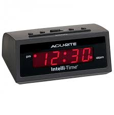 Clock That Shines Time On Ceiling by Alarm Clocks Acurite