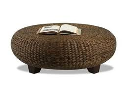 Small Outdoor Table With Umbrella Hole by Coffee Table Round Rattan Coffee Table Wicker Make With Orbs