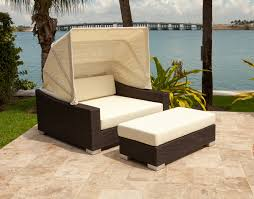 backyard outdoor furniture daybed king canopy wicker luxury