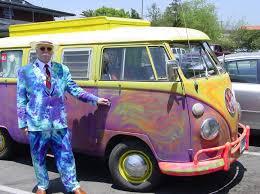 volkswagen van hippie get scones delivered by hippie john his vw bus vw cer blog