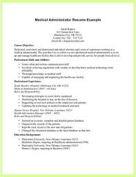 Example Medical Resume by Medical Receptionist Resume Example