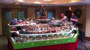 Christmas Village Sets Christmas Train Best Model Trains Youtube