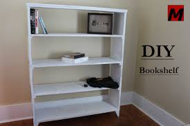 how to make a bookshelf u003d u003d diy 1 hour build w reclaimed wood
