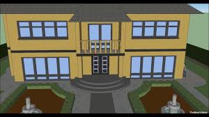 make a house with google sketchup 8 youtube