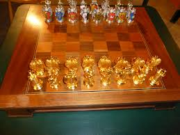 solid gold chess set feast your eyes on the house of solid gold