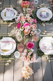 brunch table luncheon table decoration ideas diy cute ideas