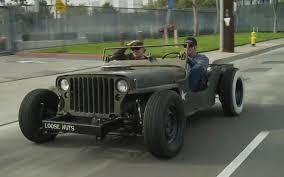 jeep slammed roadkill l a to arizona in a rat rod jeep