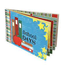 school photo album quotes back 2 school school days wire bound album