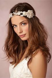 pretty headbands wedding hairstyles with veil and makeup by mandy from la headband