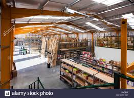Warehouse Interior by Warehouse Interior Of Travis Perkins Builders Merchants Stock