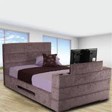 Kingsize Tv Bed Frame Sweet Dreams Mazarine 4ft 6 Tv Bed Bedstar Co Uk