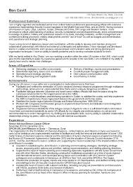 Resume Sample Executive by Professional Senior Liaison Officer Templates To Showcase Your
