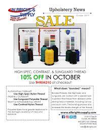Upholstery Thread 2017 10 Thread Sale Jpg