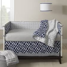 Navy Blue And White Crib Bedding by Amazon Com Lambs U0026 Ivy Jensen Collection Dust Ruffle Navy