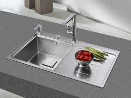 Teka Kitchen Sink Teka Zenit 1b 1d Stainless Steel Kitchen Sink Left Built In
