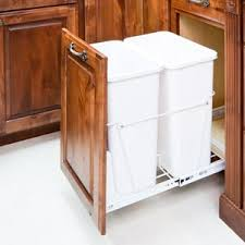Kitchen Cabinet Trash Can Pull Out Accessories Trash Can Pullout Wholesale Cabinets Warehouse