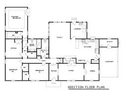 Room Addition Floor Plans Floor Plans For House Additions Homes Zone