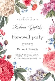 free printable retirement u0026 farewell party invitation templates