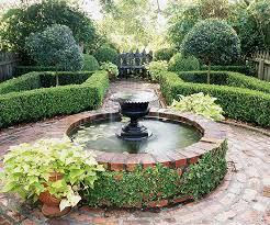 formal garden style