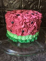 Watermelon Cake Decorating Ideas 9 Best Watermelon Images On Pinterest Birthday Ideas Cake