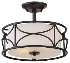 Semi Flush Ceiling Lights Avara 2 Light Semi Flush Mounts Oil Rubbed Bronze Transitional