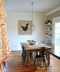 Tolix Dining Chairs Yes Please Tolix Chairs Farmhouse Table Room And Wood Table