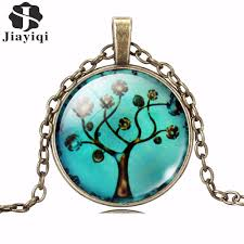 art glass necklace images Hot sale tree art glass necklace gt gt gt free shipping jarvis shop jpg