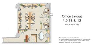 metropolis office floor plans business bay