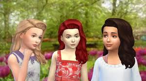 sims 4 kids hair the sims 4 maxis match cc august cas sims community
